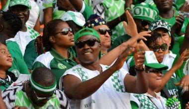 Nigeria celebrate Cup of Nations place with Benin Republic win