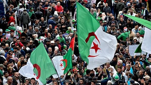 'Thieves, you have destroyed the country', Algerian protesters chanted in revival of street movement