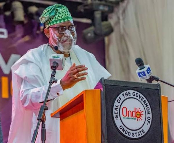 State police imperative in tackling insecurity, Akeredolu says as gov takes oath of office for second term