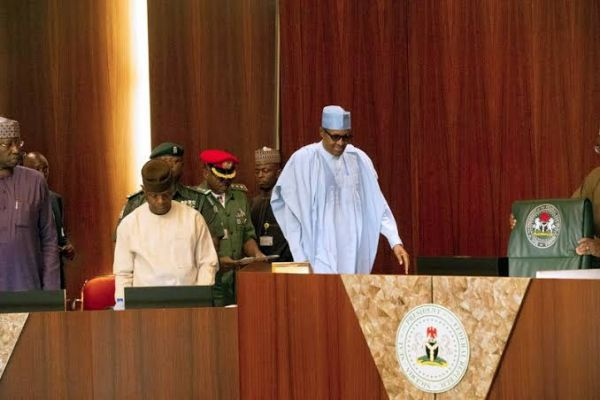 Buhari, ministers silent on Lekki massacre, approve policy on plastic waste management, others at FEC