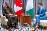 Buhari, Canada PM hold talks to strengthen ties