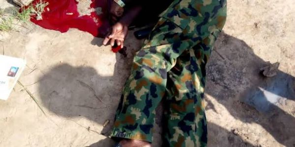 Soldier fighting Boko Haram shoots self over 'false' theft allegation